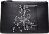 Givenchy Black Bambi Pouch