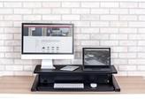 Kerrick Electric Level Up Pro Height Adjustable Standing Desk Converter Symple Stuff