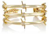 Fallon WOMEN'S BARBED WIRE TRIPLE CUFF-GOLD