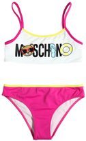 Moschino Logo Printed Lycra Bikini