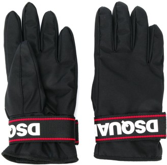 DSQUARED2 padded snow gloves