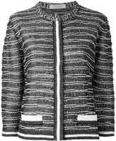 D-Exterior D.Exterior collarless cropped jacket