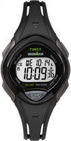 Timex Ironman Sleek 30 Womens Black Strap Watch-Tw5m103009j