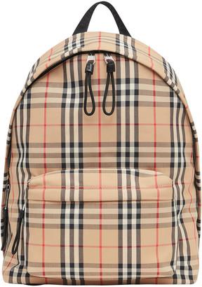 Burberry Men's Vintage Check Backpack