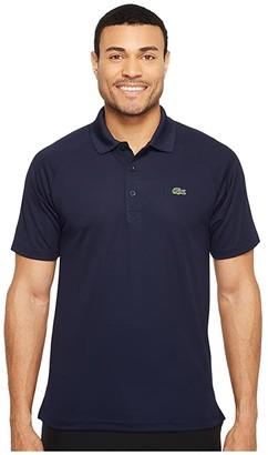 Lacoste Sport Short Sleeve Ultra Dry Raglan Sleeve Polo (Corrida) Men's Short Sleeve Pullover