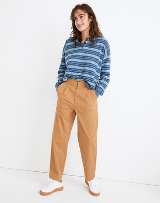 Madewell Pleated Slouchy Chino Pants