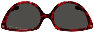 Martine Rose Yellow Mykita Edition Giraffe SOS Sunglasses