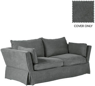 OKA Aubourn 3-Seater Sofa Cover - Charcoal