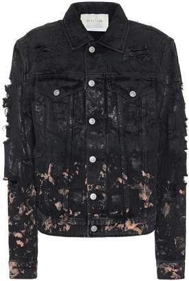 Alyx Distressed denim jacket