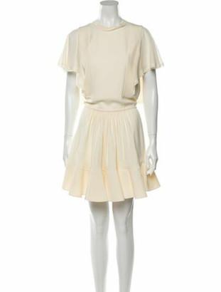 Chloé Crew Neck Mini Dress