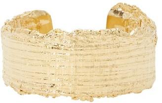 Imai Tweed cuff bracelet