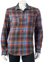 Men's Urban Pipeline® Plaid Flannel Button-Down Shirt