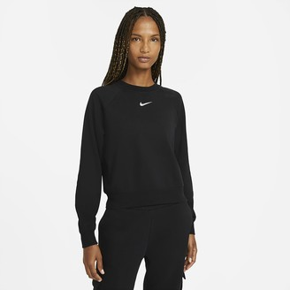 Nike Women's French Terry Crew Sportswear Swoosh