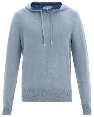 Rag & Bone Lance Cotton Hooded Sweater - Blue