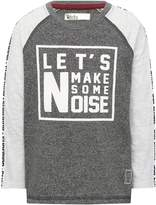 M&Co Let's make some noise sweat top