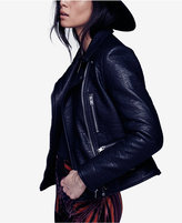 Free People Soho Faux-Leather Moto Jacket