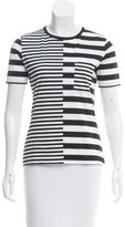 Edun Striped Scoop Neck T-Shirt