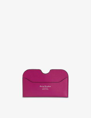 Acne Studios Elma leather card holder