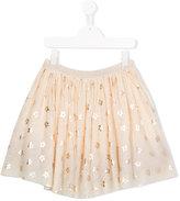 Stella McCartney flower print Honey skirt - kids - Polyester/Cotton - 14 yrs