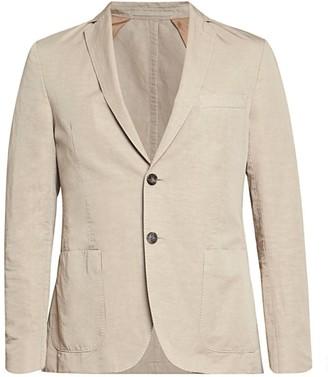 Officine Generale Linen-Blend Sports Jacket