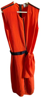 Maison Rabih Kayrouz Orange Polyester Dresses