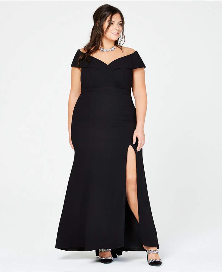 edea8cfd9f6 Xscape Plus Size Evening Dresses - ShopStyle