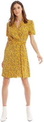 Piper Belted Vee Neck Dress