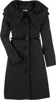 Double collar coat