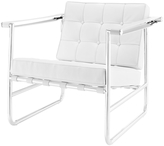 Modway Serene Stainless Steel Lounge Chair