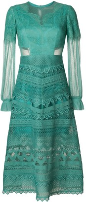Three floor Lace Affinity dress