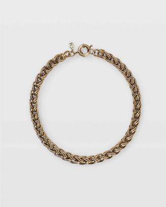 Club Monaco Chunky Braid Necklace