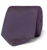 HUGO BOSS 7.5cm Micro-dot Silk-jacquard Tie