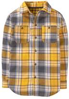 Crazy 8 Plaid Double Weave Shirt