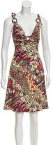 Just Cavalli Printed Sleeveless Dress w/ Tags