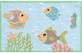 The Well Appointed House Childs Fish Party Hook Rug