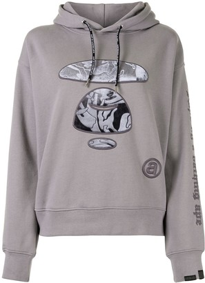 AAPE BY *A BATHING APE® Embroidered Camo Ape Hoodie