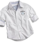 GUESS Big Boy Shirt with Roll-Up Sleeves (8-20)