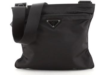 Prada Front Pocket Messenger Bag Tessuto Medium