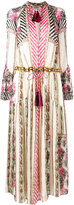 Etro tassel detailed boho dress - women - Silk/Cotton/Viscose - 38