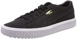 Puma Unisex Adults Breaker Suede Low-Top Sneakers, Black
