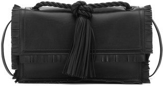 Valentino The Rope Small leather clutch