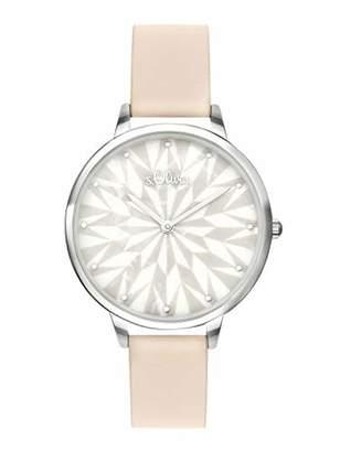 S'Oliver Womens Analogue Quartz Watch with PU Strap SO-3577-LQ