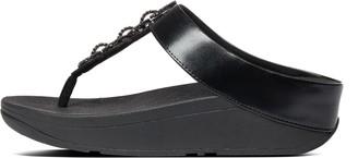 FitFlop Fino Sparkle Toe-Post Sandals