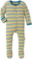 Kickee Pants Print Footie (Baby) - Fantasy Stripe - 3-6 Months