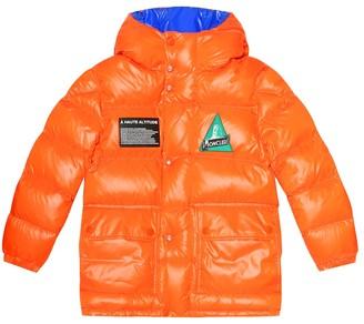 Moncler Enfant Ubaye hooded down jacket
