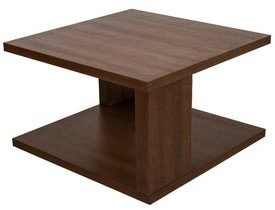 Latitude Run Deonna Trestle Coffee Table with Storage