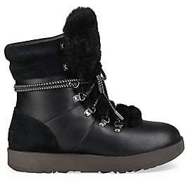 UGG Women's Viki Waterproof Shearling & Leather Boots