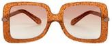 Karen Walker Eden Supernova 53MM Square Sunglasses