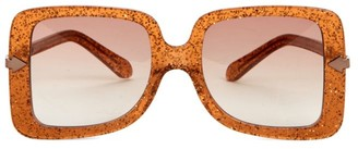 Karen Walker Eden Supernova 53MM Square Sunglasses