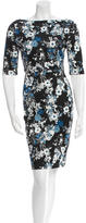 Erdem Printed Knee-Length Dress w/ Tags